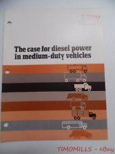 c.1973 Caterpillar Diesel in Medium-Duty Vehicles Industrial Catalog Vintage VG