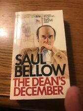 The Dean's December book 1983 S/C Saul Bellow first pocket books printing rare