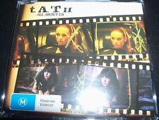 TATU All About Us Rare Australian Enhanced CD Single - Like New