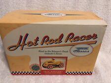 Hallmark Kiddie Car Classics 1956 Garton Hot Rod Yellow Racer Die Cast