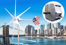 Patriot 1600 W Watt Max Wind Turbine Generator PMA 12 Volt AC 6 White Blade