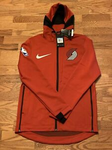 Nike NBA Portland Trail Blazers Therma Flex Showtime Warmup Hoodie Adult Large