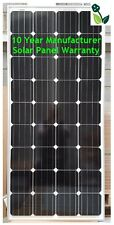 150W Solar Panel Monocrystalline 10 Year Warranty Ideal for Off-Grid Systems NEW