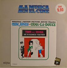 """OST - SOUNDTRACK - TOM AND IRMA ARE IN BUSINESS TOGETHER - JONES 12"""" LP (L701)"""