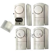 4x Boat Security Wireless Door & Window Sensor Alarms 100Db Burglar Intruder NEW