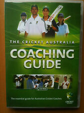 THE CRICKET AUSTRALIA COACHING GUIDE~ PC CD-ROM~ DESIGNED FOR ACCREDITED COACHES
