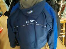 Easton Eishockey Winter Jacke 3 in 1 m.Kapuze in Gr.L Senior blau,Letzte ca.60%