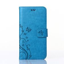 Flip Leather Wallet Cards Stand Case Cover For iPhone 4S 5S 6 6S 7 Plus SE Touch