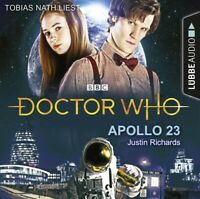 JUSTIN RICHARDS - DOCTOR WHO-APOLLO 23  4 CD NEW