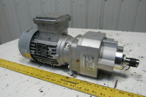 Nord SK80LP/4 CUS TW 23:1 Ratio .75kW 1Hp 3PH 230/460 Gear Motor Inline Reducer