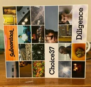 Subcontact presents: Choice37 (Choice 37) Diligence CD, Made In Japan.