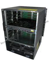 Cisco WS-C6509-E w/ WS-SUP720-3BXL, dual WS-CAC-3000W Bundle 6509/6500