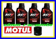 Tagliando Filtro Olio 3lt Motul 300v 10w40 Yamaha Drag Star 650 2000