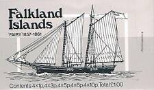FALKLAND 1982 mail navires booklet SG SB5