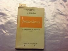Jnaneshvari: A Song-Sermon on the Bhagavadgita Vol. 2. 1969 Bhagavad gita