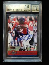 2001 PACIFIC LADAINIAN TOMLINSON RC AUTOGRAPH(ON CARD) #459.GRADED