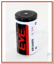 EVE ER 34615 Batteria Pila 3,6V Li-SoCl2 STD BA Torcia D Allarme Gps