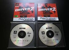 JEU Sony PLAYSTATION PS1 PS2 : DRIVER 2 Back On The Streets (Platinum COMPLET)