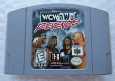 ✅ *GREAT* WCW/NWO Revenge Nintendo 64 N64 Retro Wrestling Video Game WWF WWE ✅