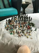Huge Lot of O Scale Model Train Figures and Extras