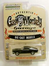 1969 '69 MUSTANG BOSS 429 GAS MONKEY GARAGE GREENLIGHT HOLLYWOOD GL DIECAST 2016