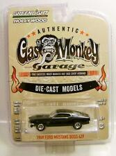 1969 '69 MUSTANG BOSS 429 GAS MONKEY GARAGE GREENLIGHT HOLLYWOOD GL DIECAST 2016