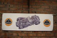 LOTUS 7 LOTUS Super Seven grande lavoro in pvc Negozio Banner Garage mostra Banner
