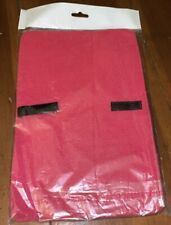 Mateque Pink Flat Hair Straighteners Heat Proof Mat for Use With ghd & Others