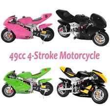 50 Km/h Mini Gas Power kids &Teens Pocket Bike Motorcycle 49cc 2-Stroke Engine