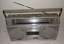 VINTAGE PANASONIC RX-5015 RADIO CASSETTE, CASSETTE NOT WORKING (PARTS OR REPAIR)