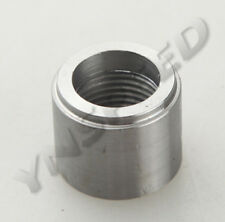 "3/8"" NPT Female Steel NPT Weld Bung-In AN Fitting Adapter Round"