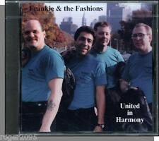 Frankie & The Fashions - United in Harmony - New 23 Song CD!