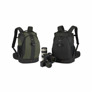 Lowepro Flipside 400 AW Digital SLR Camera Bag, Backpack, BLACK & GREEN