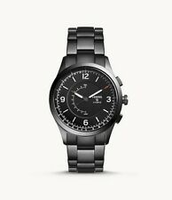 Hybrid Smartwatch Activist Smoke Stainless Steel