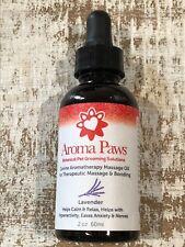 "Aroma Paws Canine Aromatherapy Massage Oil For Massage & Bonding ""Lavender"" 2oz"