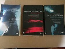 LAURELL K.HAMILTON 3 VOLL.DONO DI CENERE,RESTI MORTALI,UN BACIO NELL'OMBRA  TEA