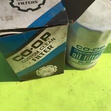 CO-OP  PL-50 oil filter.   NOS.   Item:  8709