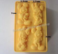 Mickey and Minnie Silicone Chocolate Fondant Gum paste Silicon Mold Molder