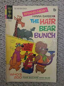 Hanna-Barbera The Hair Bear Bunch #1 (1972) Gold Key Comic FR/GD condition