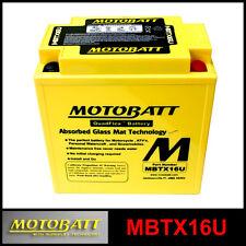 BATTERIE [MOTOBATT] MBTX16U = YTX16BS (12 V 19 SCELLÉS EN ACTIVÉ