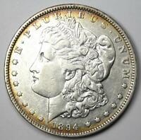 1894 Morgan Silver Dollar $1 Coin (1894-P) - AU Details - Rare Date!
