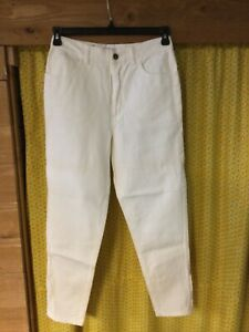 Vintage Guess Jeans Womens White 32 Made in USA