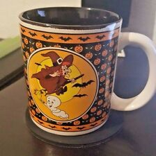 Casper the Friendly Ghost Coffee Mug Cup black interior Vintage 1986