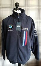 BMW jacket Extra large XL chest 132 Cms Fleece embriored New tag Official Merch