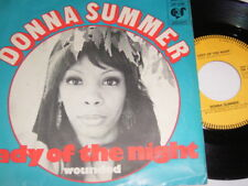 """7"""" - Donna Summer Lady of the Night & Wounded - Dutch diff 1974 # 2946"""