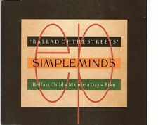 CD SIMPLE MINDS	ballad of the streets	AUSTRIA 1989 EX   (A1121)