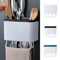 Hanging Kitchen Shelf Spoons Chopsticks Fork Drain Rack Storage Holder Organizer