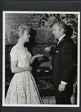 DORIS DAY + RICHARD WIDMARK CANDID -1958 THE TUNNEL OF LOVE - DOUBLEWEIGHT