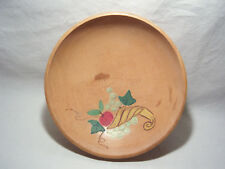 VINTAGE 1947-1952 MADE IN OCCUPIED JAPAN WOOD BOWL HAND PAINTED FRUIT CORNUCOPIA