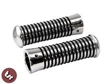 VESPA/LAMBRETTA Custom Sundance Handlebar Grips Chrome PX/GP/SX/LML/VBB 125/200